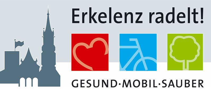 Logo der Stadt Erkelenz mit der Aufrschrift