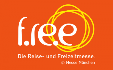 Logo der Messe f.re.e - Die Reise- und Freizeitmesse in München