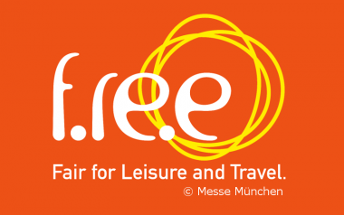 Logo of the f.re.e - Fair for Leisure and Travel in Munich