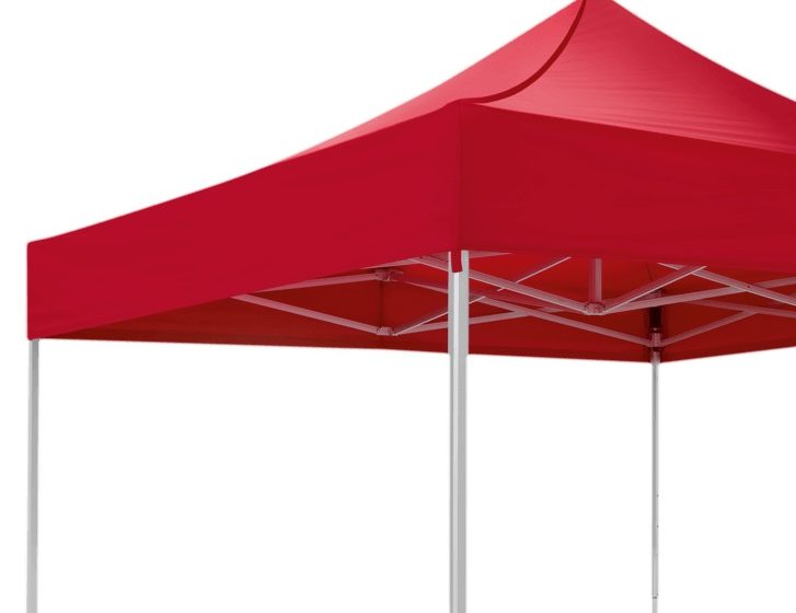 Red canopy tent from RUKU