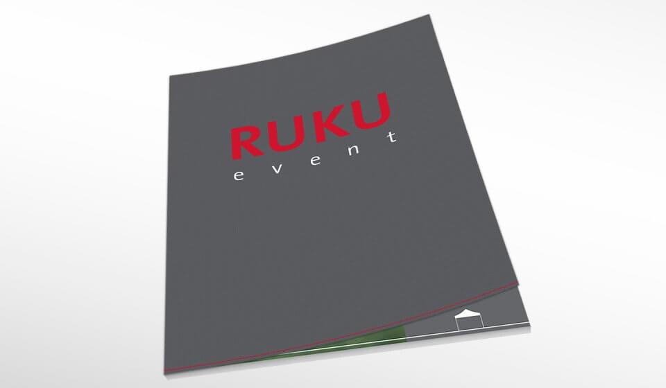 Die Titelseite des neuen Gesamtkatalogs von RUKUevent.