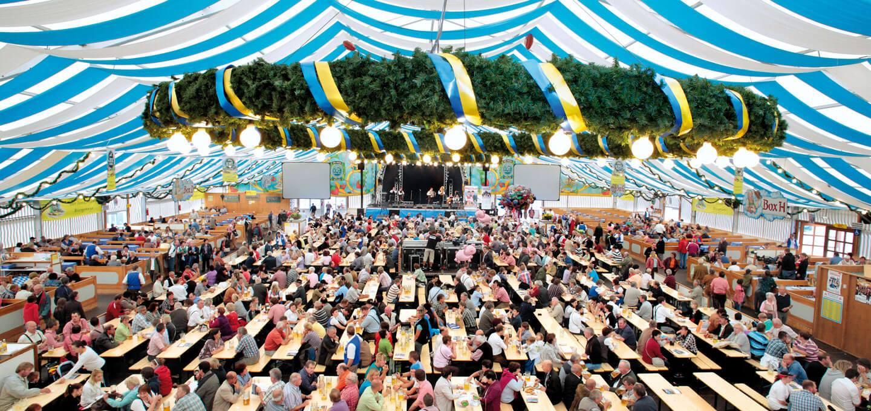 RUKU Garnituren auf dem Münchner Oktoberfest in der Ochsenbraterei.