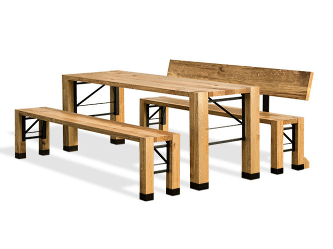 Produced From Solid Oak Wood, This Furniture Has A Sophisticated Folding  Mechanism That Allows It To Be Swiftly Set Up And Dismantled Again.