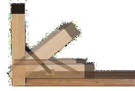 Detailbild des Klappmechanisums der Design-Garnitur