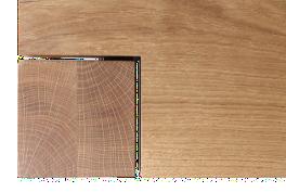 Detailansicht des Lagotischs. Klare Linie und Stil.