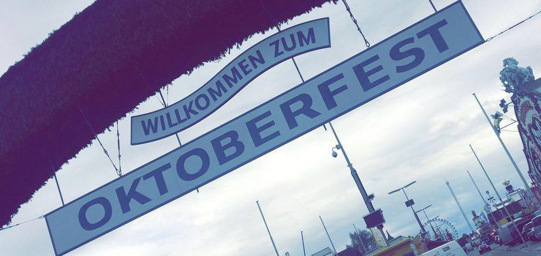 Willkommen zum Oktoberfest 2017
