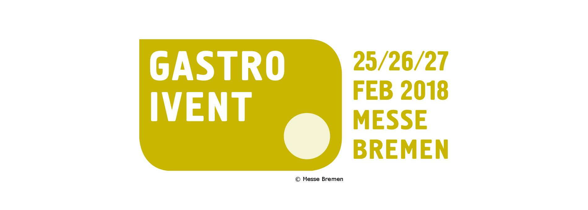 Logo der Messe Gastro Ivent in Bremen