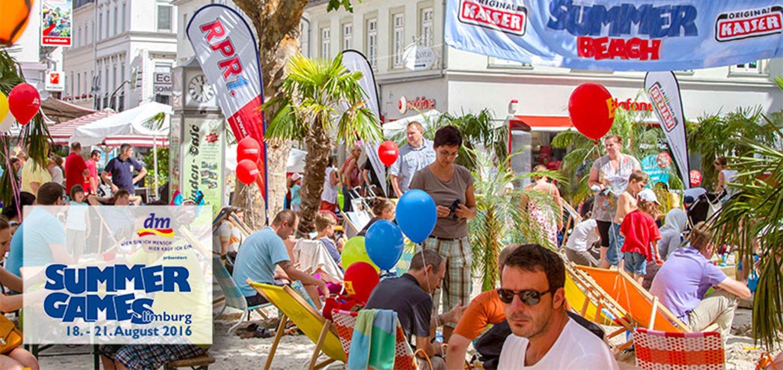 Viele Besucher bei den Summer Games in Limburg 2016.
