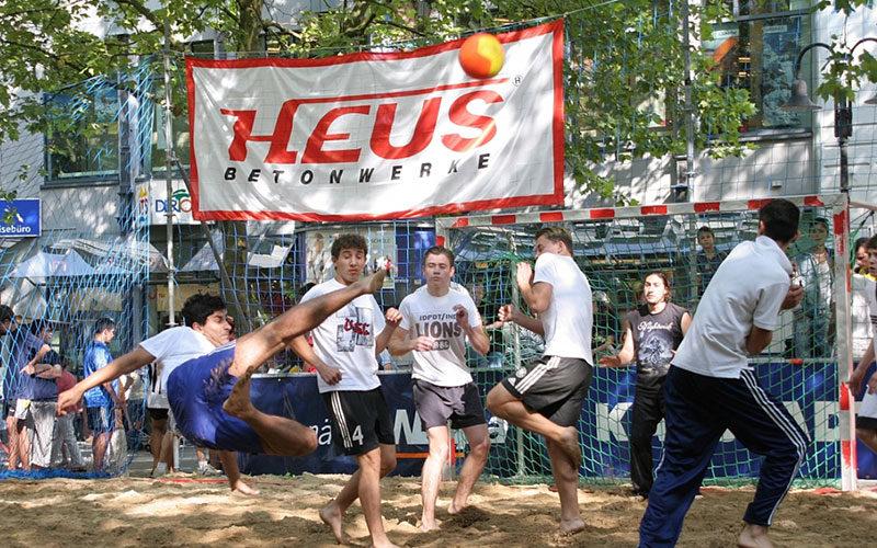 atento bei den Summer Games 2016 in Limburg